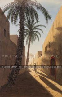 A Street in Babylon, 6th century BC - Archaeology Illustrated