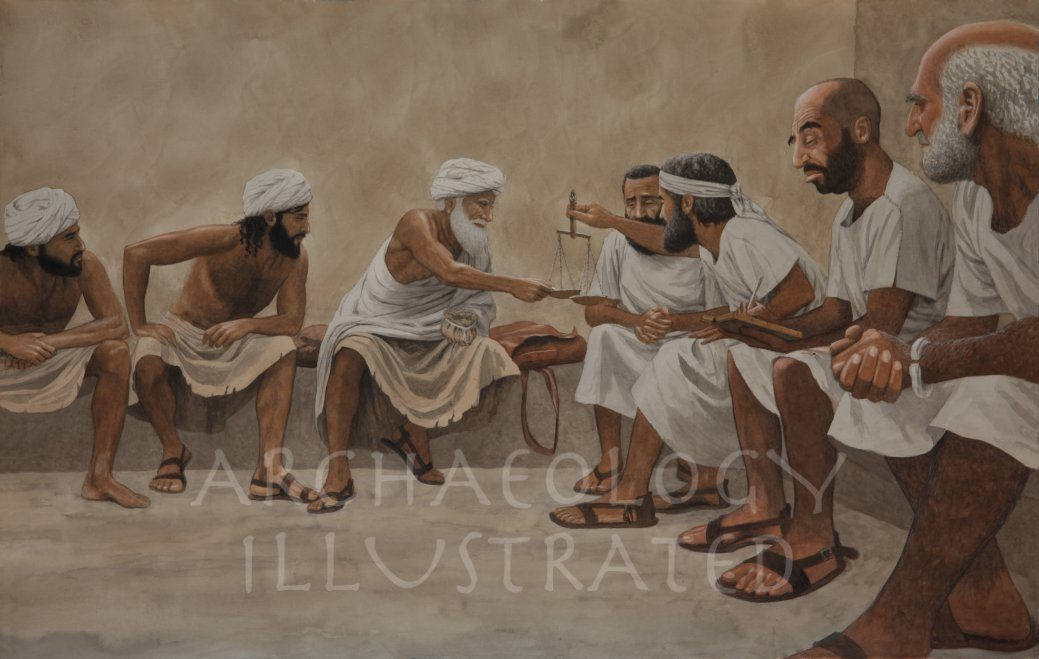 Abraham Purchasing the Cave of Machpela - Archaeology Illustrated