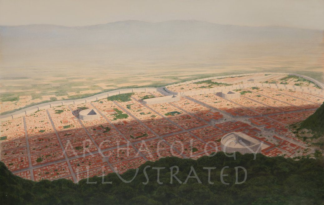 Antioch, View from Mt Silpius, 1st century - Archaeology Illustrated