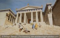 Athens, The Propylaea (Gateway) to the Acropolis, 5th century BC - Archaeology Illustrated