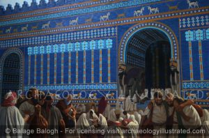 Babylon, Jewish Exiles Gathered at Nebuchadnezzar's Throne Room, 586 BC - Archaeology Illustrated