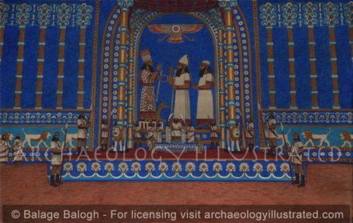 Babylon, Nebuchadnezzar's Throne Room, 6th century BC - Archaeology Illustrated