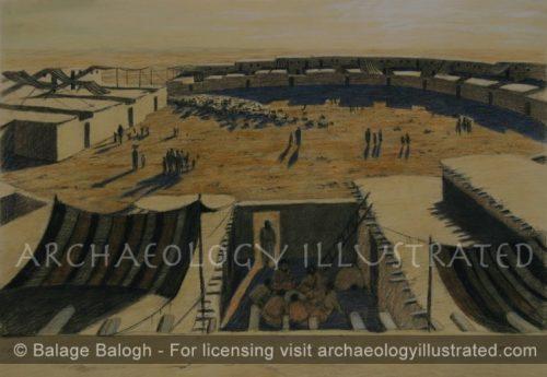 Beersheva, The Initial Israelite Settlement, Around 1100BC - Archaeology Illustrated