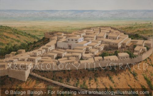 Beth Shean and the Valley of the Jordan River, 1200 BC - Archaeology Illustrated