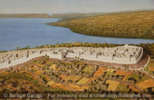 Bethsaida, the Jordan River and the Sea of Galilee, Northern Israel, 8th century BC - Archaeology Illustrated