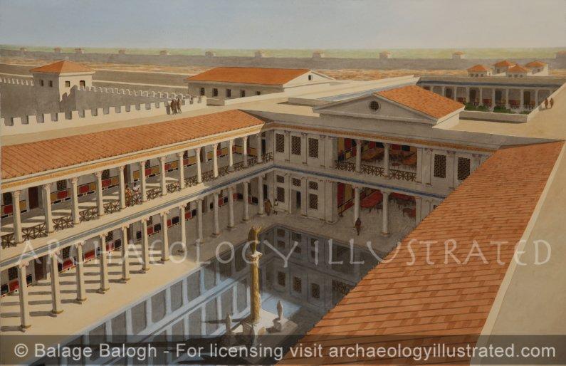 Caesarea, Herod's Palace, 1st century BC-AD - Archaeology Illustrated