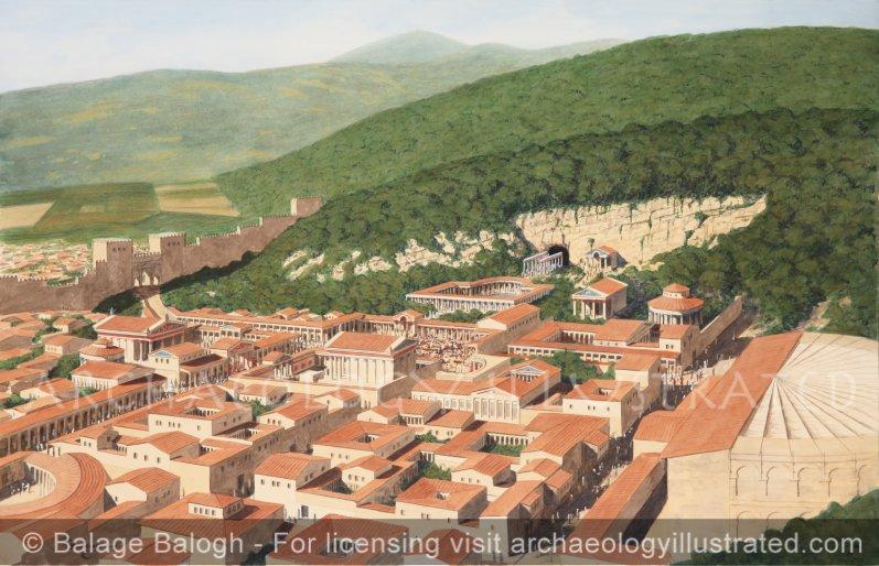 Caesarea Philippi (Banyas), The Source of the Jordan River, Northern Israel, 1st century AD - Archaeology Illustrated