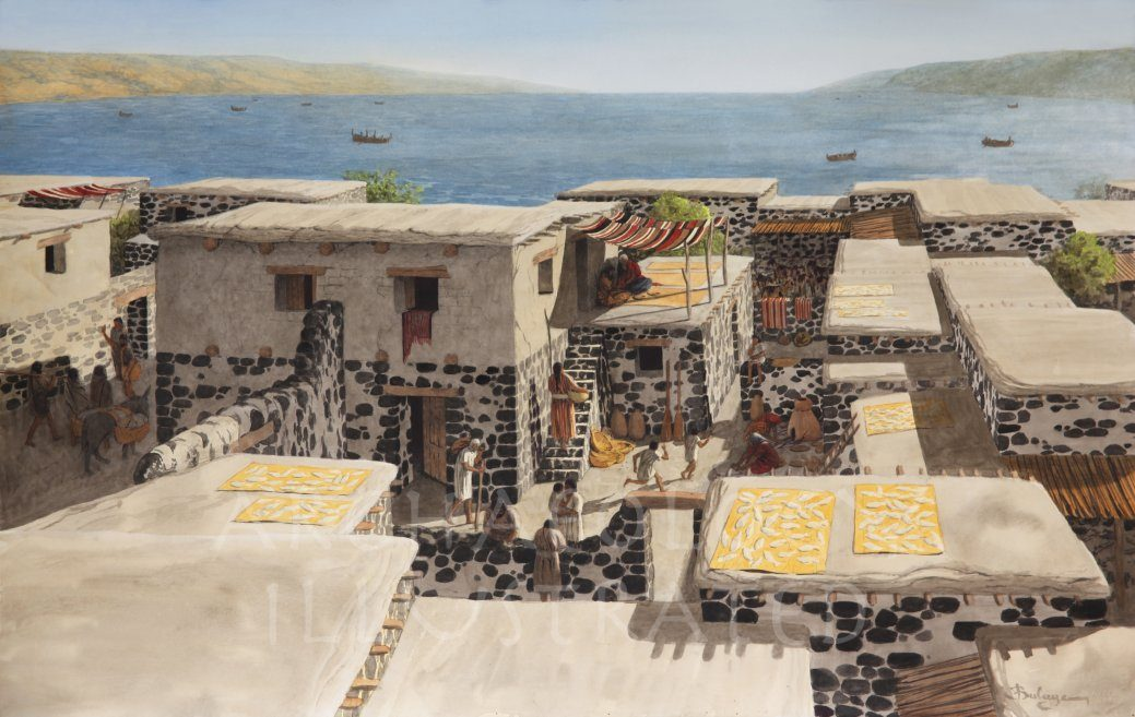 Capernaum House of Peter, Jesus' Headquarters, 1st century AD - Archaeology Illustrated