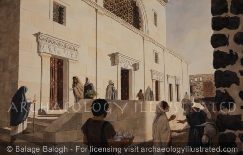 Capernaum Synagogue, 5th century AD - Archaeology Illustrated