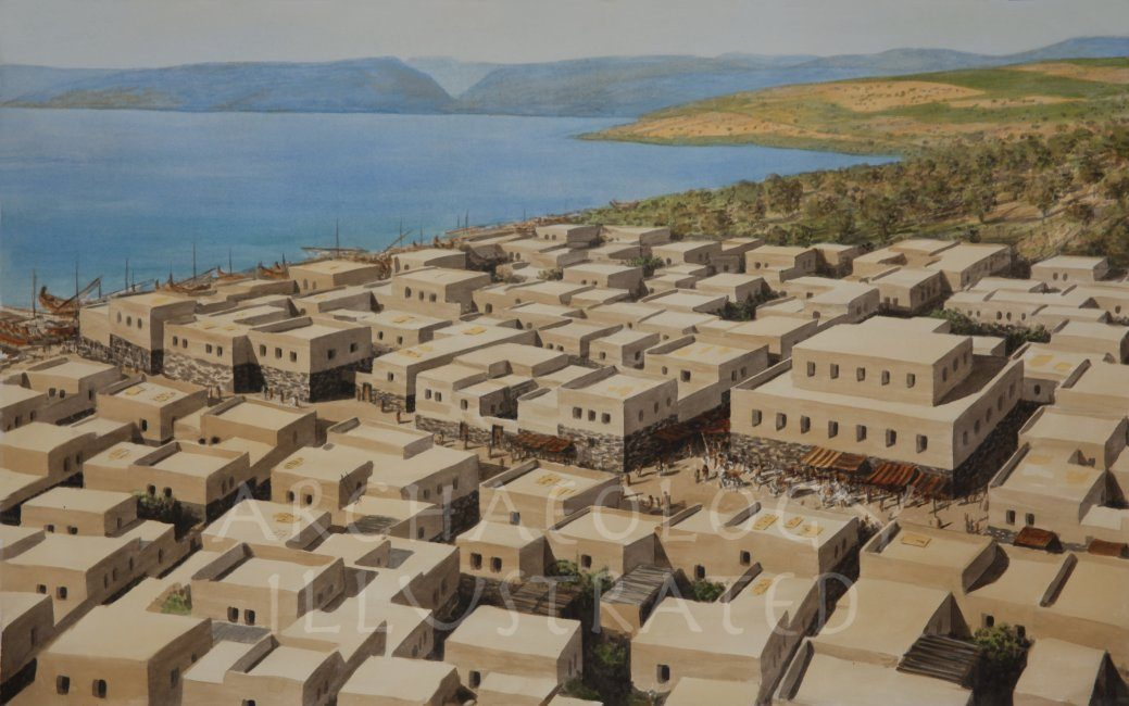 Capernaum and the Sea of Galilee, 1st century AD - Archaeology Illustrated
