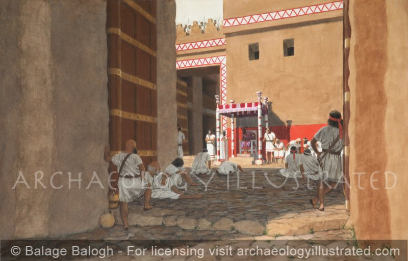 Dan, Northern Israel, Trial at the City Gate - Archaeology Illustrated
