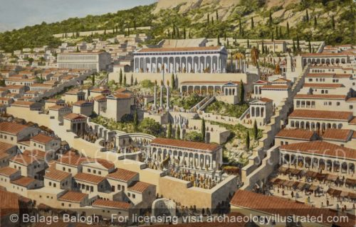 Delphi, Greece, The Oracle of Apollo - Archaeology Illustrated
