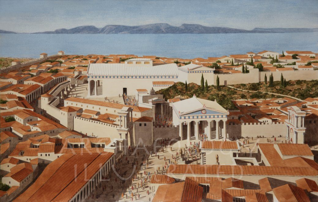 Eleusis, Southern Greece, Cult Center of the Mysteries of Demeter and Persephone - Archaeology Illustrated