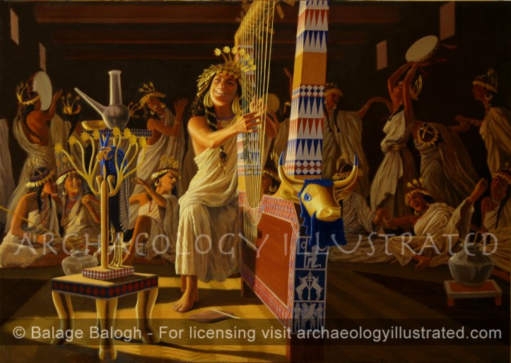 Enheduanna, Princess of Sumer and Akkad, The World's First Poet - Archaeology Illustrated