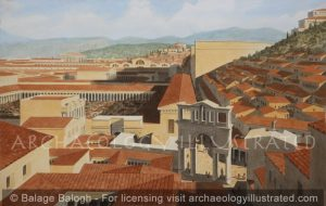 Ephesus, Western Turkey, Center of Town, 2nd Century AD - Archaeology Illustrated