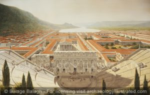 Ephesus, Western Turkey, The Theater, City Center and Harbor, 1st-2nd century AD - Archaeology Illustrated