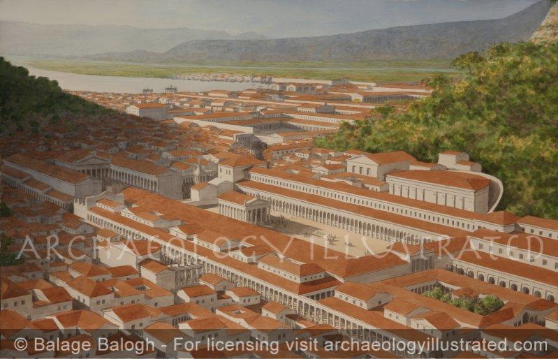 Ephesus, Western Turkey, The Upper (Roman) Agora, 2nd Century AD - Archaeology Illustrated