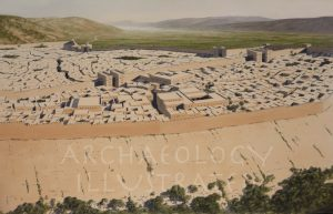 Hazor, The Canaanite City, Northern Israel, Around 1200 BC - Archaeology Illustrated