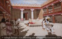 Hazor, the Canaanite City, Northern Israel, Temple-Palace Courtyard. Late Bronze Age - Archaeology Illustrated