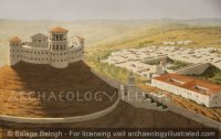 Herodium Fortress and Palace Grounds, 1st Century BC - Archaeology Illustrated