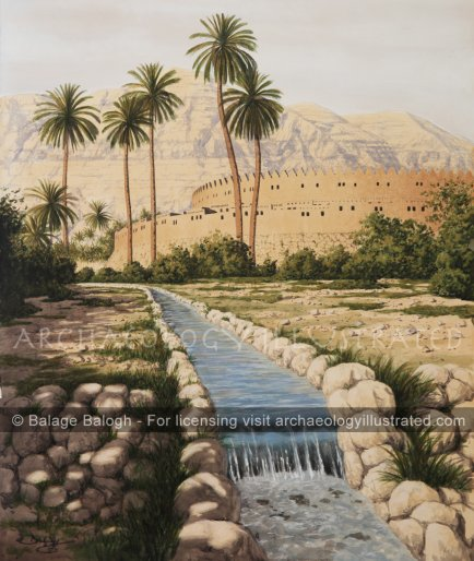 Jericho Gardens in the Time of Joshua - Archaeology Illustrated