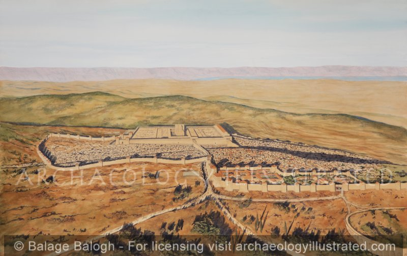 Jerusalem, Aerial View. 1st century AD - Archaeology Illustrated