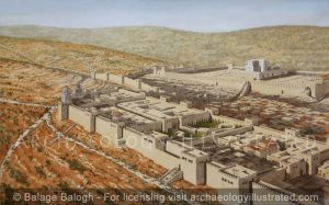 Jerusalem, Herod's Palace, 1st century BC-AD - Archaeology Illustrated