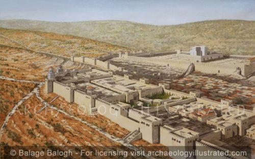 Jerusalem, Herod's Palace, 1st century BC-AD - Archaeology Illustrated