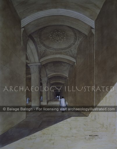 Jerusalem, Herod's Temple The Double Gate - Archaeology Illustrated
