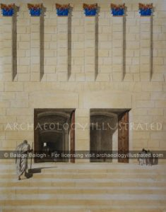 Jerusalem, Herod's Temple, The Double Gate - Archaeology Illustrated