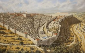 Jerusalem, Looking North. 1st Century AD - Archaeology Illustrated