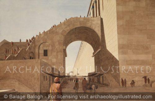 Jerusalem, Temple Mount SW Corner - Archaeology Illustrated