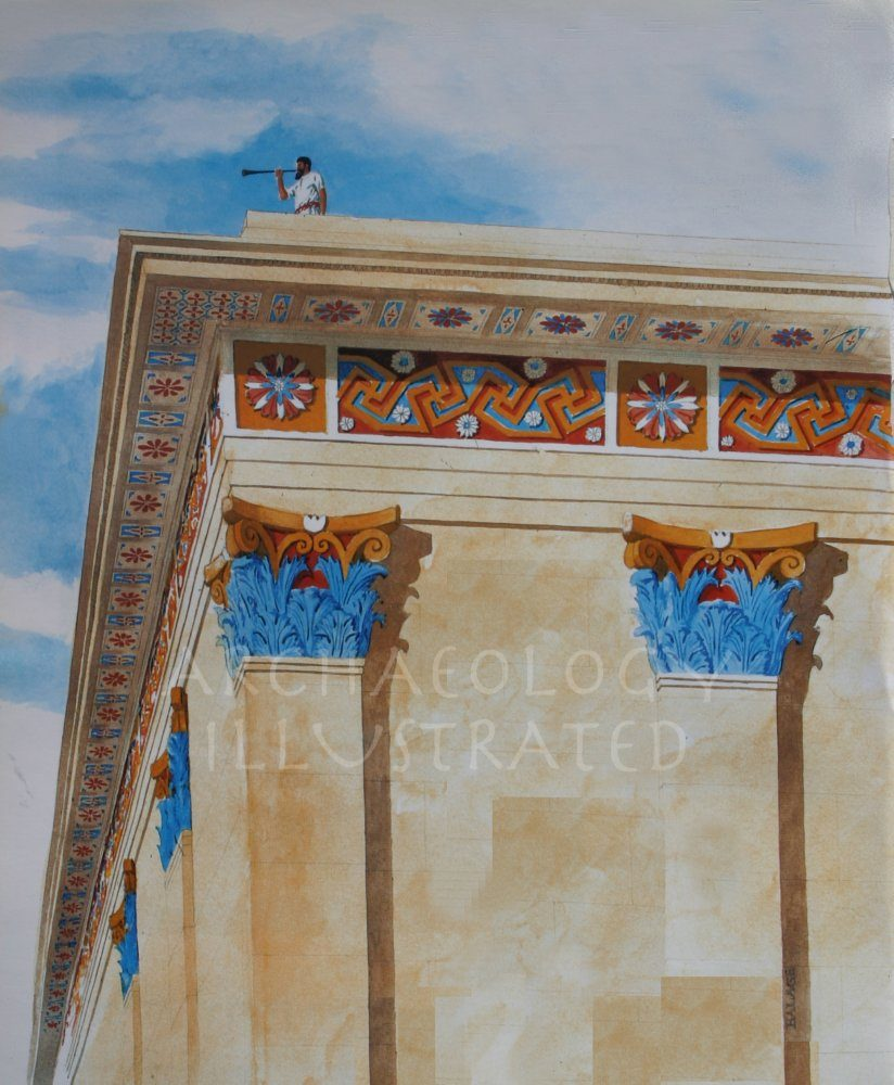 "Jerusalem, Temple Mount SW Corner ""Place of Trumpeting"" - Archaeology Illustrated"