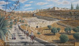 Jerusalem, The Hebron Road, Ottoman period - Archaeology Illustrated