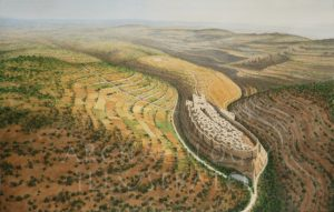 Jerusalem in the time of King David, 10th century BC - Archaeology Illustrated