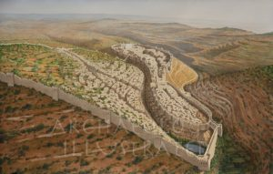 Jerusalem in the time of King Hezekiah, 8th century BC - Archaeology Illustrated