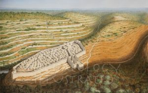 Jerusalem, the Jebusite City before King David's Conquest - Archaeology Illustrated
