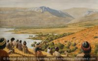 Jesus and His Disciples in a Wheat Field by the Sea of Galilee - Archaeology Illustrated