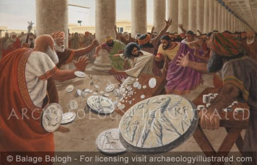 Jesus  and the Money Changers - Archaeology Illustrated
