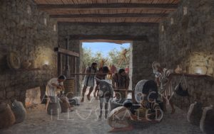 Katzrin, Golan Heights, Israel, Oil Pressers in the Byzantine Period - Archaeology Illustrated