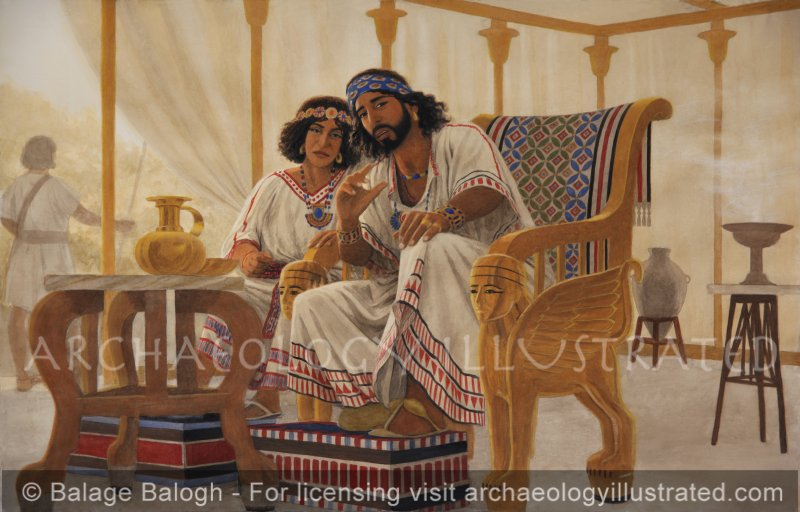 King Solomon and His Mother Bathsheba - Archaeology Illustrated