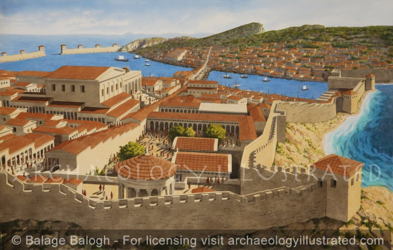 Knidos, South-Western Turkey, Greek City in the Roman Period - Archaeology Illustrated