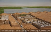 Malkata, West Bank of the Nile, Palace Complex of Amenhotep III - Archaeology Illustrated