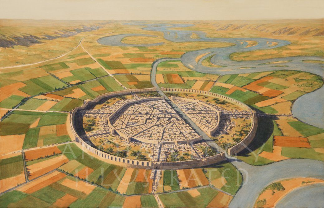 Mari, Regional Capital in Northern Mesopotamia, and the Euphrates River, 1800BC - Archaeology Illustrated