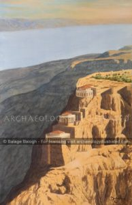 Masada and the Dead Sea, Herod's Desert Fortress, 1st Century BC - Archaeology Illustrated