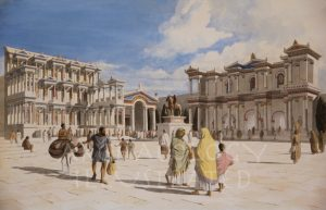 Miletus, Western Turkey, The Fountain and the Monumental Market Gate, 2nd century AD - Archaeology Illustrated