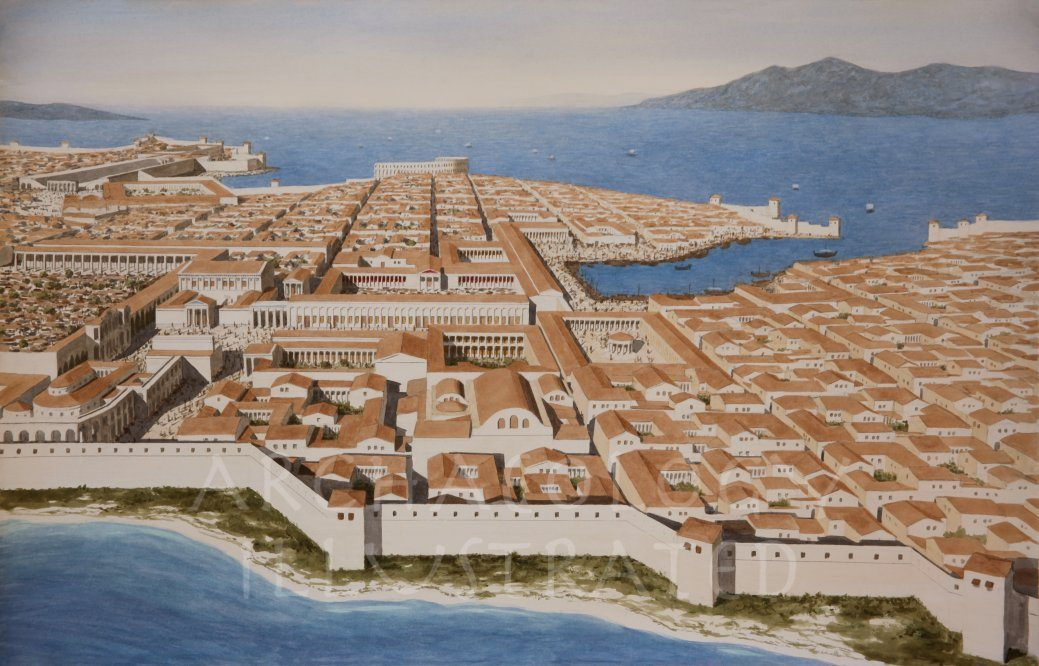 Miletus, Western Turkey, in the Roman Period - Archaeology Illustrated