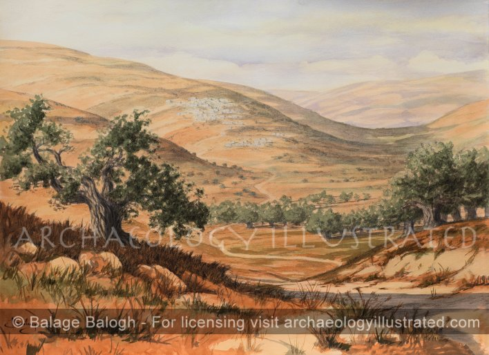 Nazareth in the 1st century AD - Archaeology Illustrated