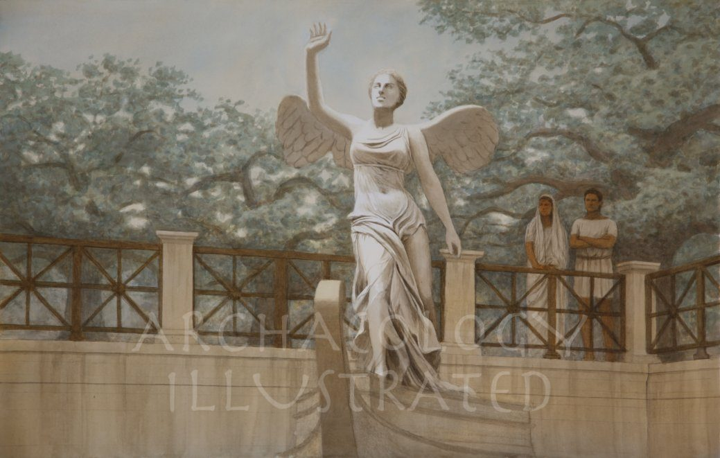 Nike of Samothrace, Greece, 2nd century BC - Archaeology Illustrated