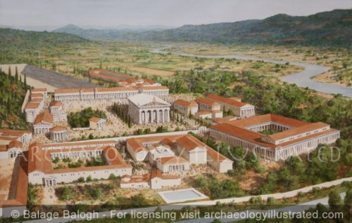 Olympia, Greece. River View, 2nd Century BC - Archaeology Illustrated